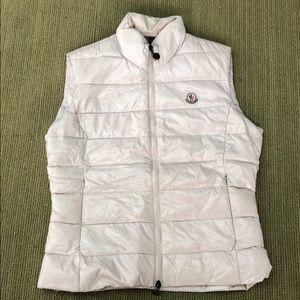 Moncler Jackets & Coats - Moncler Ghany Shiny Nylon Down Puffer Vest